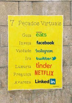 7 Pecados Netflix, Gula, Instagram, Poster, Envy, Jokes, 7 Sins, Posters, Movie Posters