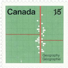 Beautiful stamp commemorating the International Geographical Congress in 1973