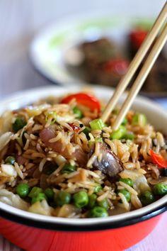 מעשה במאפה: אורז מוקפץ עם ירקות