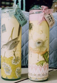 paper craft candles