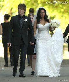 Exclusif - Johnny Rzeznik se marie avec Melina Gallo à Malibu le 26 juillet 2013. Bitch.