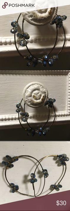 Anthropologie earrings Super cute earrings. Don't wear them. Anthropologie Jewelry Earrings