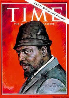 On his 97th birthday, Thelonious Monk's Time cover, February 1964