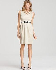 """Lola"" Stretch Cotton Sheath Dress by Kate Spade: On sale, $243.75 #Dress #Kate_Spade"