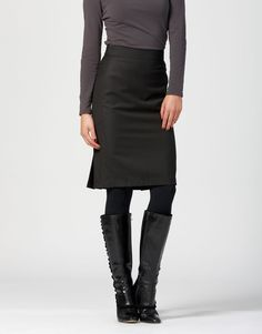 I own four almost identical black pencil skirts. Maybe it's time I start wearing them.