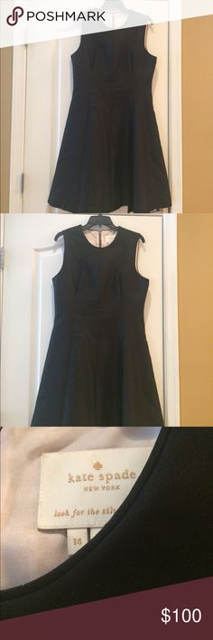 Gorgeous Kate Spade Fit and Flare Dress Beautiful fit and flare Kate Spade Dress with pale pink lining and pockets. Dress was only worn once and is in new condition. kate spade Dresses