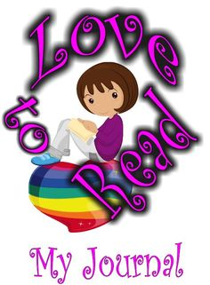 """Reading Journal in fun girl reading on rainbow heart design: """"Love to Read"""" 100 Days Of School, School Fun, School Teacher, Girl Reading Book, School Signs, Rainbow Heart, 100th Day, Teacher Appreciation, Teacher Gifts"""