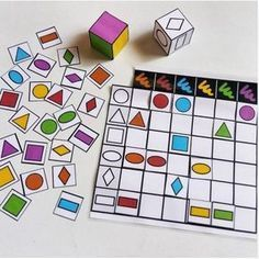 Doble entrada Kids Learning Activities, Kindergarten Activities, Educational Activities, Fun Learning, Preschool Activities, Teaching Kids, Preschool Centers, Preschool Math, 3d Shapes Kindergarten