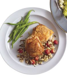 Chicken With Wild Rice and Grapes Recipe (2011)