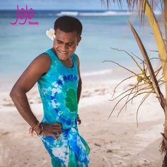 #jojovanuatu hand dyed 100%silk tank top and silk pareo