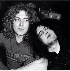Robert Plant and a sleepy Jimmy Page! jimmy isnt in that pic with plant. its from manitcore studios london 1977 Pop Rock, Rock N Roll, Great Bands, Cool Bands, Hard Rock, Robert Plant Led Zeppelin, Blues, John Bonham, John Paul Jones
