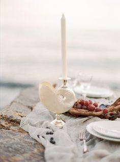Italian coastal wedding shoot