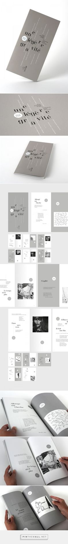 A slight gravity - Editorial Design by Graphéine
