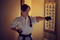 Female Martial Artists, Martial Arts Women, Shotokan Karate, Yoko Littner, Ju Jitsu, Karate Girl, Samus Aran, Girl Fights, Judo