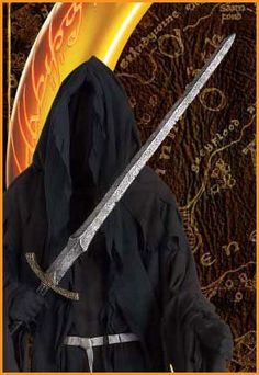 SWORD - MID PRICE OPTION  Amazon.com: Lord of the Rings Ringwraith's Witch King Sword Halloween Accessory: Clothing