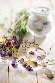 Lavender sugar.  http://www.annabelchaffer.com/categories/Dining-Accessories/