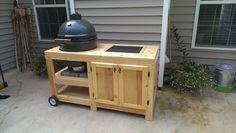 Big Green Egg Table - by Bubbaisback @ LumberJocks.com ~ woodworking community