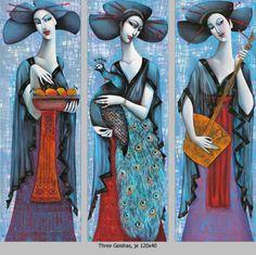 Ira Tsantekidou- Paintings since 2008