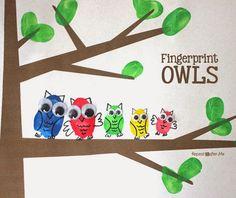 Repeat Crafter Me: Fingerprint Owls