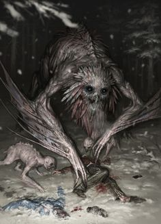 Forest-Monsters, Denis Zhbankov on ArtStation at https://www.artstation.com/artwork/xnQJO