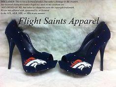 I adore these! Denver Broncos Shoes, Broncos Gear, Denver Broncos Baby, Go Broncos, Broncos Fans, Denver Donkeys, Crazy Shoes, Me Too Shoes, Best Football Team