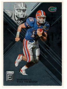 Sports Cards Football – 2017 Elite Tim Tebow – Free Shipping