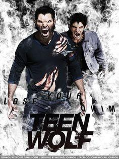 Teen Wolf Poster Season 3 - Derek/Scott by FastMike.deviantart.com on @DeviantArt