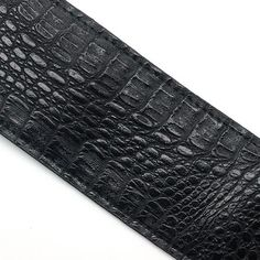 Suitable for all types of guitar. Comes in black or brown. Types Of Guitar, Guitar Gifts, Guitar Accessories, Crocodile Skin, Pu Leather, Pattern, Color, Black, Style