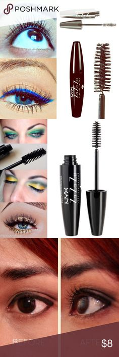 🔅NYX *Za Za Zou Boudoir Mascara*🔅W/GIFTS!😍🎁🎉 🔅BRAND NEW & UNOPENED🔅NYX *Za Za Zou Boudoir* Mascara🔅The mother of ALL mascaras! This fiber infused formulation adds length, volume & drama all in 1 swipe! The large soft bristles sweep over ALL lashes for full proof application! Delivers FULL, lengthening AND curled lashes w/ perfect ease!🔅BUNDLE ONLY 3 ITEMS & GET AN *ADDITIONAL* 15% OFF OR JUST 2 ITEMS FOR AN EXTRA 10% OFF!🔅INCLUDES SUPER CUTE FREE GIFTS THAT ALL MY CUSTOMERS…