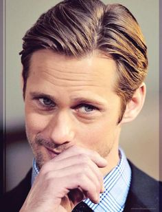 Dear God...Thank You So Much For Alexander Skarsgard, His Beautiful Blue Eyes & That Adorable Little Smirk!