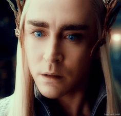 Thranduil is amazing... I am becoming more attached to him than I should... :P