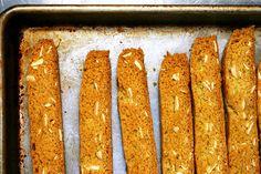 almond biscotti | smittenkitchen.com