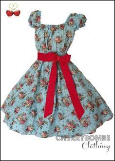 Vintage-1950s-JESSICA-Swing-Dress-PLUS-SIZE-24-26-28-Rockabilly-PinUp-Wedding