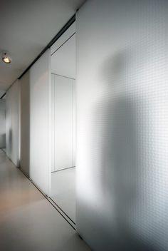 translucent walls in barbican flat