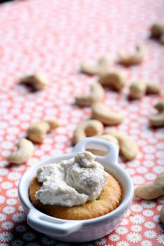 Tangy Cashew Cheese by @olivesfordinner