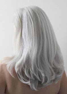 Photos of gorgeous gray hairstyles long silvery gray hair