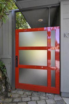 Red Garage Door On Pinterest Garage Doors Garage And