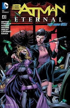 Batman Eternal Don't miss this special issue that loops our story all the way back to where it started in BATMAN - but with a twist you won't see coming! Batman And Catwoman, Batman And Superman, Batgirl, Illustration Comic, Comic Book Covers, Comic Books, Batman Eternal, Dc Comics, Batman Detective Comics