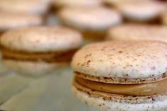 salted caramel macaron recipe | jane bakes things