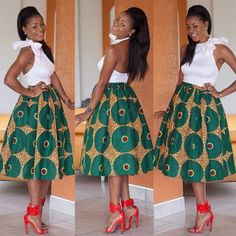 African Clothing African Midi Skirt African by DiagossaCouture African Print Skirt, African Print Dresses, African Fashion Dresses, African Fabric, African Dress, Ankara Fabric, Nigerian Fashion, African Prints, African Dashiki