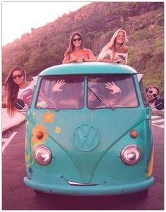 Art Symphony: Ode to the Hippie Van {♡ ☮ ❀}