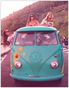 Art Symphony: Ode to the Hippie Van {♡ ☮ ❀}