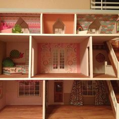 Dollhouse inside like the stairs