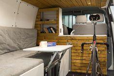 VW T5 Transporter Campingbus Ausbau mit Fahrrad