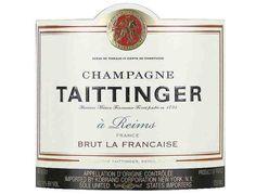 Taittinger Champagne, Brut La Francais, 750ml