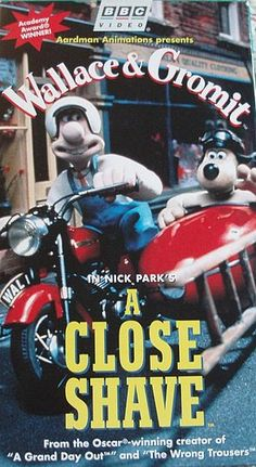 """Wallace:""""We'll call him 'shorn', eh? Come on, Shaun!"""" Nick Park's Wallace & Gromit: #ACloseShave"""