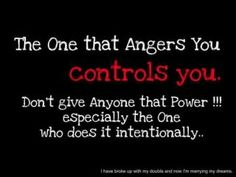 Don't give anyone that power!