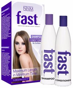 FAST shampoo and conditioner is specifically formulated to provide the optimal essential nutrients, amino acids and proteins not found in regular shampoos to prolong, sustain and maximize fast hair gr