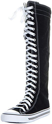 BESTSELLER! West Blvd Womens Sneaker Knee High La... $14.70