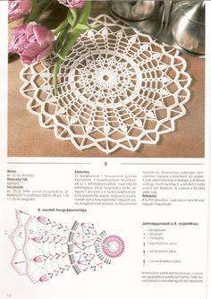 Captivating Crochet a Bodycon Dress Top Ideas. Dazzling Crochet a Bodycon Dress Top Ideas. Crochet Doily Diagram, Crochet Potholders, Crochet Doily Patterns, Crochet Tablecloth, Thread Crochet, Diy Crochet, Crochet Stitches, Crochet Round, Crochet Dreamcatcher